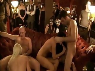 LobsterTube group sex swingers party