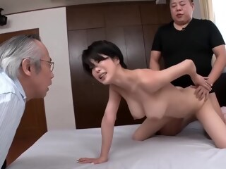 LobsterTube asian big tits cuckold