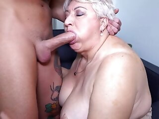 LobsterTube blowjob bbw mature