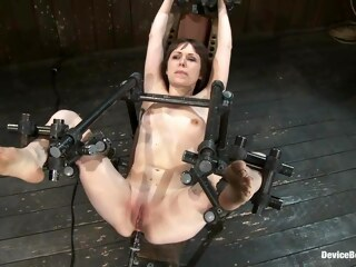 LobsterTube bdsm brunette fetish